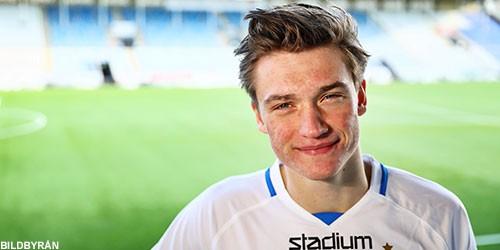 Månadens spelare i juli Rasmus Lauritsen
