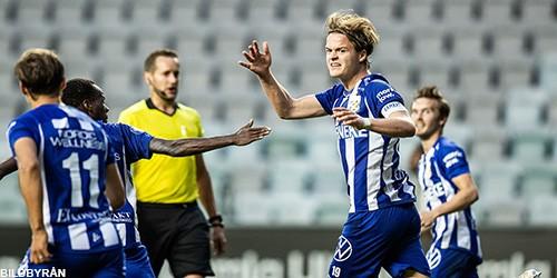 """Blåvita höjdpunkter efter IFK Göteborg – Östersund (2-2) """"August gjorde två mål. Punkt."""""""